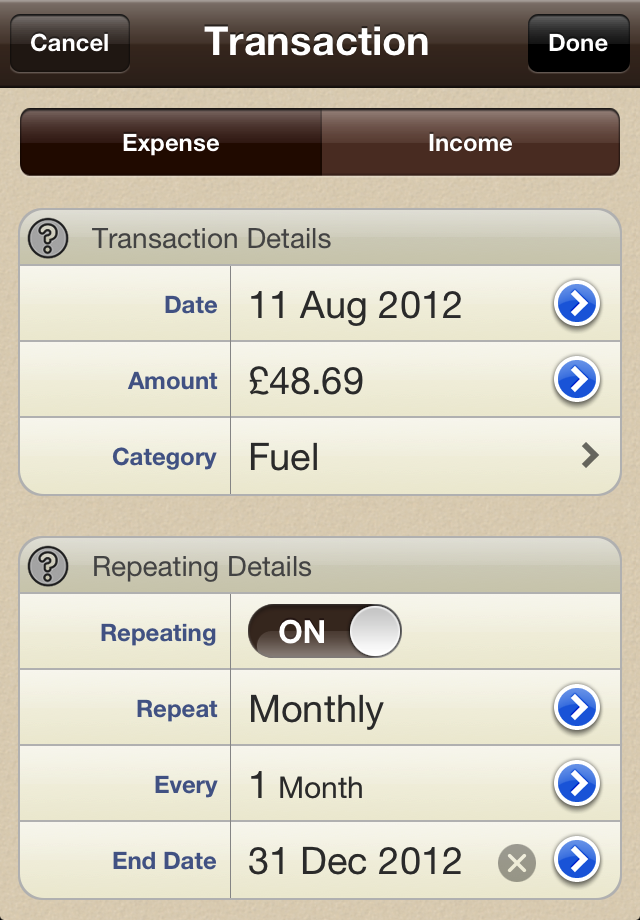 Spending Tracker - Spending App for iPhone, IPad, Android &l ...
